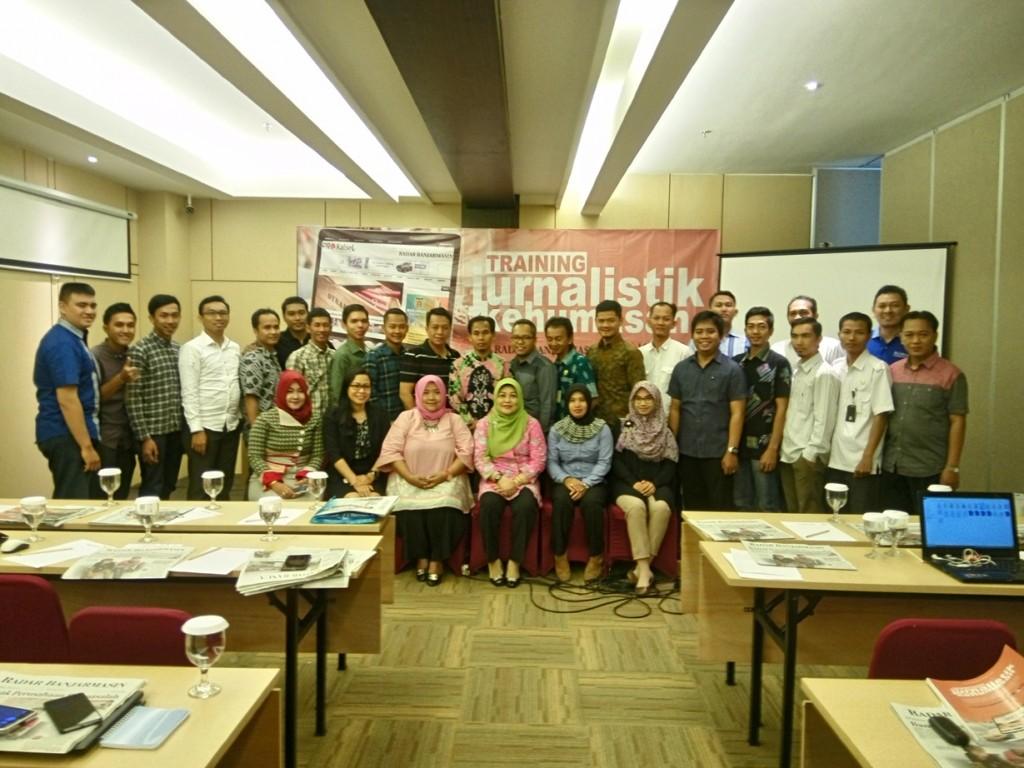 training jurnalistik kehumasan