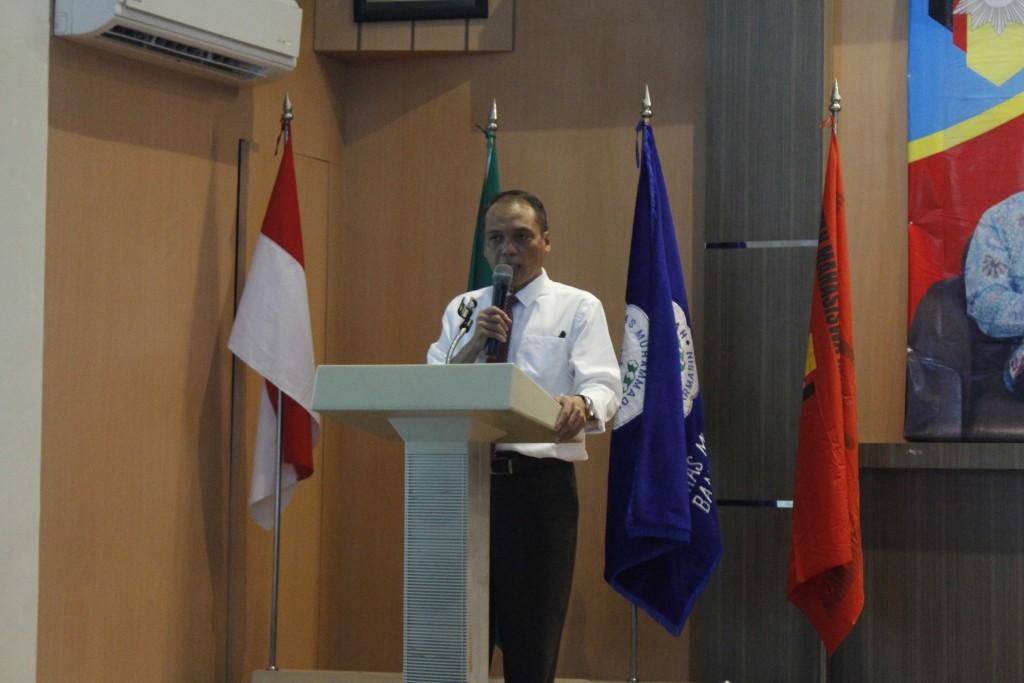 Pidato Iftitah Oleh Prof. Dr. H. Ahmad Khairuddin, M.Ag